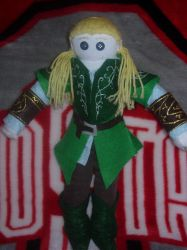 Legolas sock doll by captjackspeanut