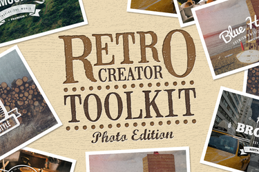 Retro Creator Tool Kit Photo Edition by xstortionist