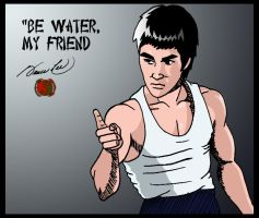 Bruce Lee 1 by deanfenechanimations