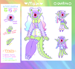 [Custom Xynthii] - DreamyDino by hello-planet-chan