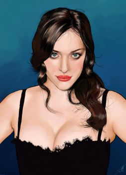 Kat Dennings by DustyGriffin