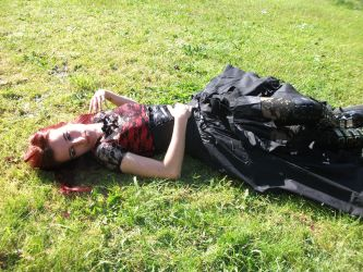 Girl lay down stock by SusanaDS-Stocks