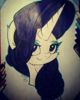 Rarity. Portrait by Kindny-Chan