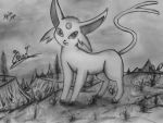 Pearl, the Espeon by Xyvier