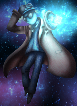 Falling through space by Wixi2000
