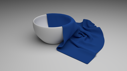 Bowl and Cloth by LanceRodriguez