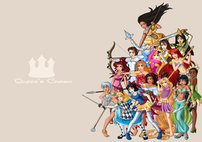 Queen's Crown Ladies 2 by AerianR
