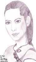 Drawing: *Piper Halliwell* Sketch by FiyahKitteh