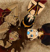 Fun in the Fire Nation by TanoshiiGirl