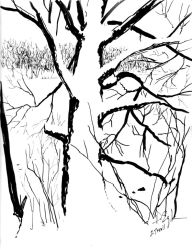Snow Tree by Duncan-Eagleson