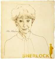 Mrs Hudson by 403shiomi