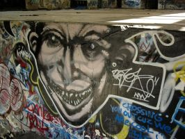 Face On The Wall by artoid