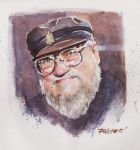 George R. R. Martin by ermitanyongpalits