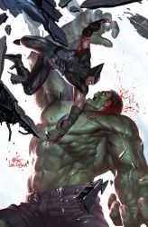 The Immortal Hulk #17 by inhyuklee