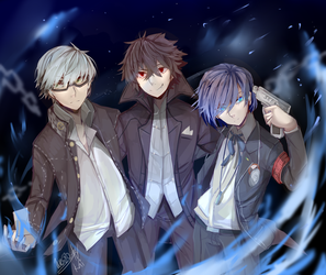 Persona protags by Wes80