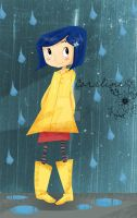 Coraline by yunamoonflower