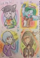 ''4's a charm!!'' ((Gift/OC's/Multiple persona's)) by FabulousandDumbness1