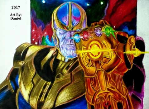Thanos (2017) by nielopena