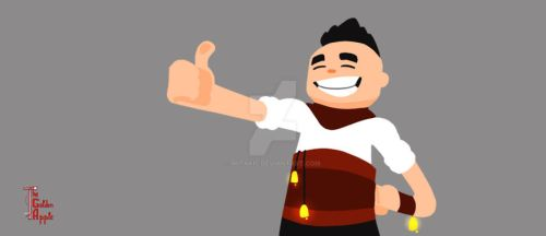 Bran thumbs up! by mitakis