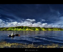 Toba's fisherman by hirza