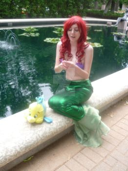 Ariel and the Dinglehopper by inaligrimalkin