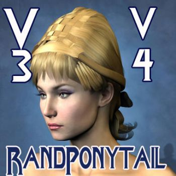 Rand Ponytail Hair by mylochka