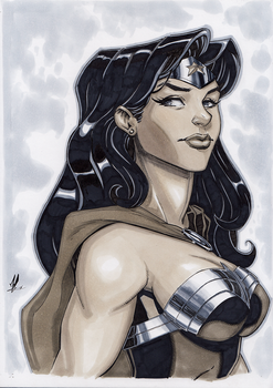 Wonder Woman Birthday Commission by Marc-F-Huizinga