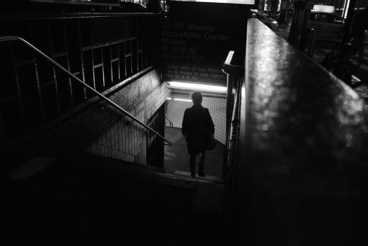 Into the subway by freakme