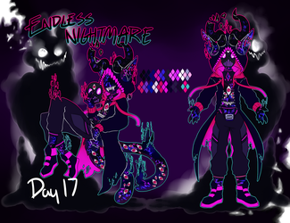 [ Day 17 - Endless Nightmare ] by Marblesona