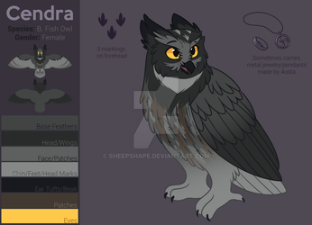 Cendra Reference by SheepShape