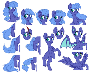 Pony freeline by Kate-Littlewing