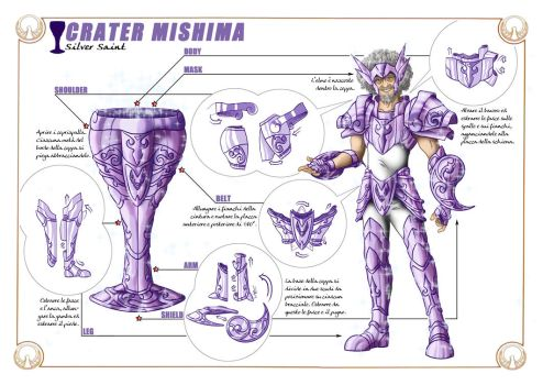 Cup Mishima - Technical sheet by Sekishiki