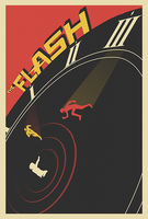 Flash Finale Poster by MessyPandas