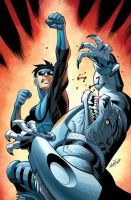 Invincible 57 cover by RyanOttley