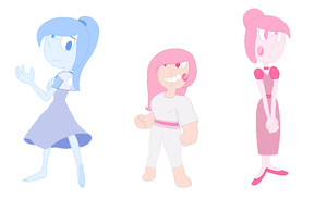Rose Quartz and Pearls Adopts by november123456789066
