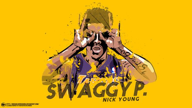 Nick Young Swaggy P. wallpaper by michaelherradura