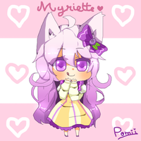 [OC] Myrtille !!! by Pomii-chan