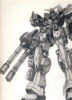 Gundam Heavyarms by ZombieLaJuice