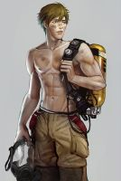 Favourite firefighter by Mstrmagnolia