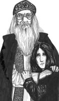 Dumbledore the Defender by Atanapotnia