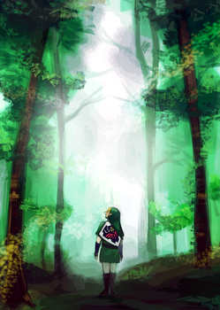 Day Green: Forest Dream [ LoZ ] by gniao