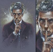 Twelfth Doctor - Peter Capaldi, Doctor Who by PortraitsByAlan