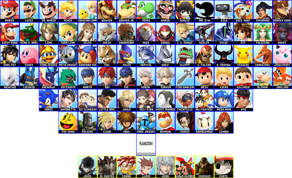 Dream Roster by deadly-swordsman