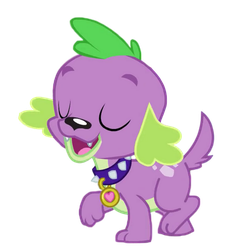 Dog Spike (Walking) by Awsomejosh13