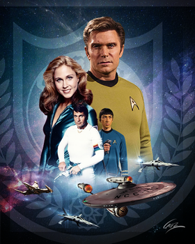 Star Trek Continues Meets Buck Rogers by PZNS