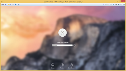 OSX Yosemite logon by PeterRollar
