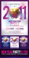 Happy New Year Flyer by EAMejia