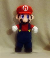 Mario Plushie by W0IfDreamer