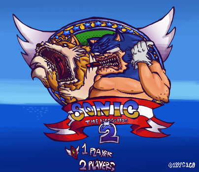 Sonic the Hedgehog 2 by Pedrovin