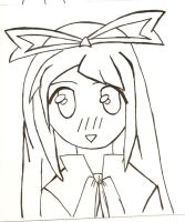 Flonne Lineart by Chaoxis